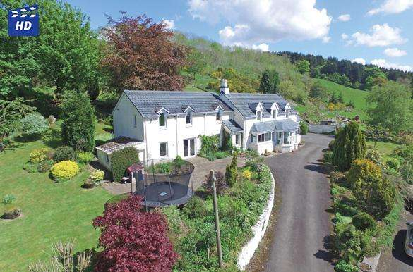 5 Bedrooms Detached House for sale in Blairtummock Campsie Road, Strathblane, G66 7AR