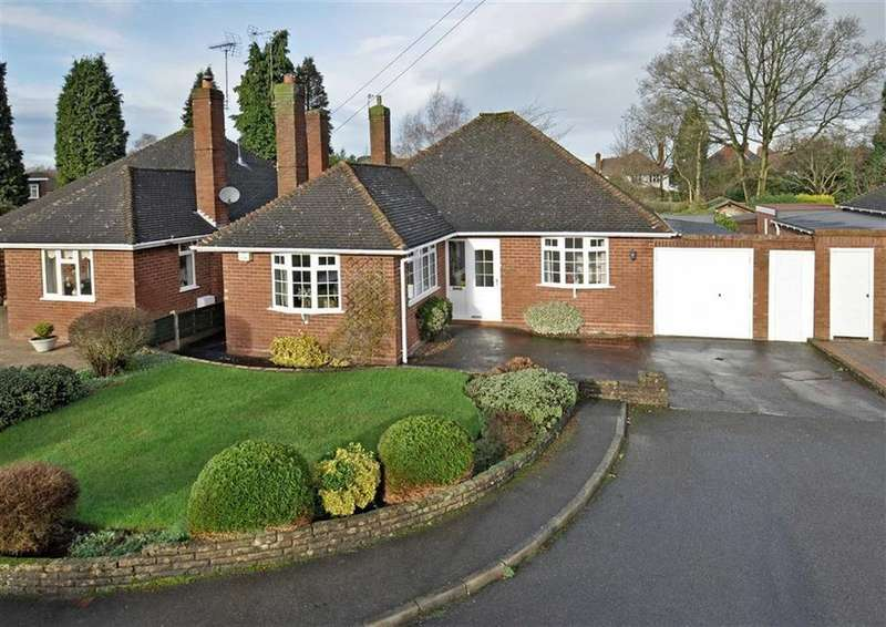 2 Bedrooms Detached Bungalow for sale in 2, York Crescent, Finchfield, Wolverhampton, West Midlands, WV3
