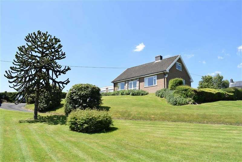 4 Bedrooms Detached Bungalow for sale in Gwynfa, Carno, Powys, SY17