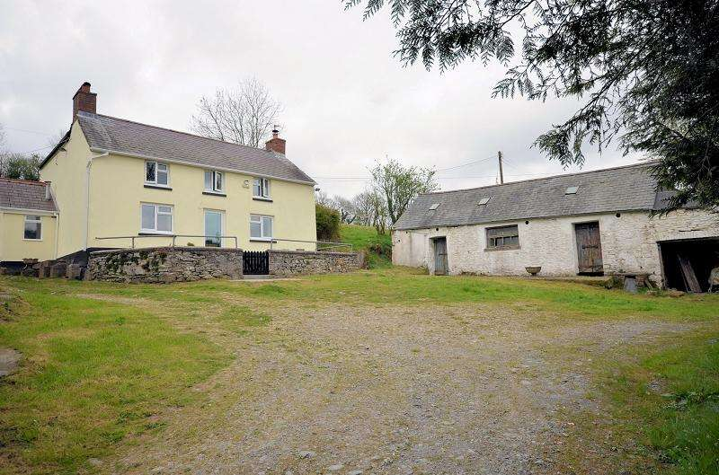 3 Bedrooms Land Commercial for sale in Tir Walter , Abergorlech Road, Brechfa, Carmarthen, Carmarthenshire. SA32 7BD