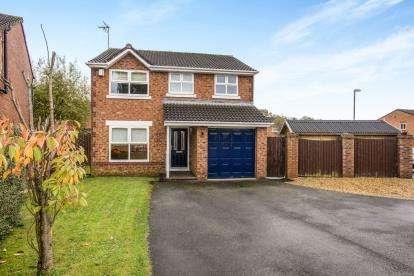 4 Bedrooms Detached House for sale in Hedgerows Road, Leyland, Lancashire, PR25