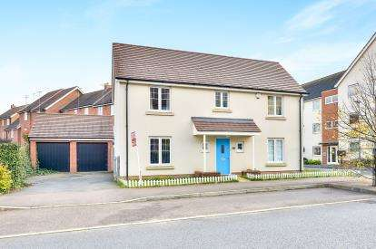 4 Bedrooms Detached House for sale in St.Helena Avenue, Newton Leys, Bletchley, Milton Keynes