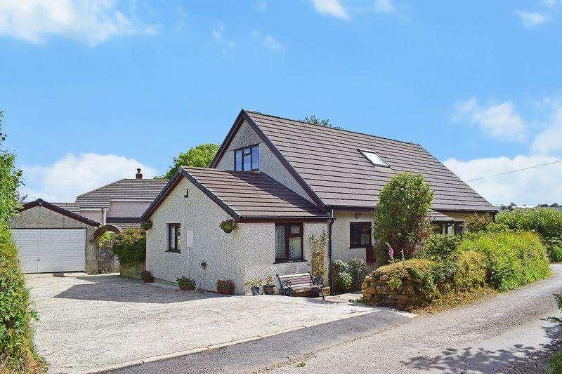 4 Bedrooms Detached Bungalow for sale in Trecarne, Liskeard