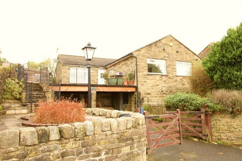 3 Bedrooms Detached Bungalow for sale in Laycock Lane, Laycock, Keighley, BD22