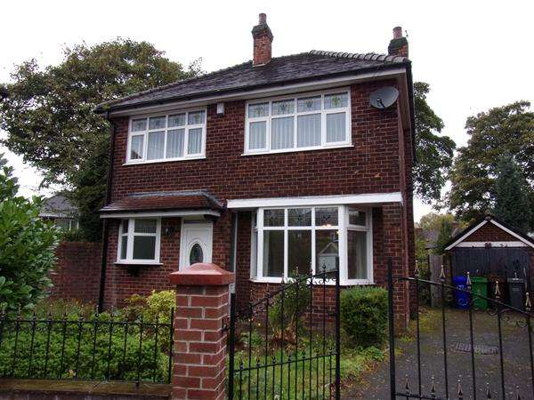 3 Bedrooms Detached House for sale in Verril Avenue, Northern Moor, Manchester