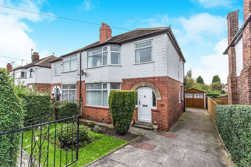 3 Bedrooms Semi Detached House for sale in Knightsway, Leeds, LS15