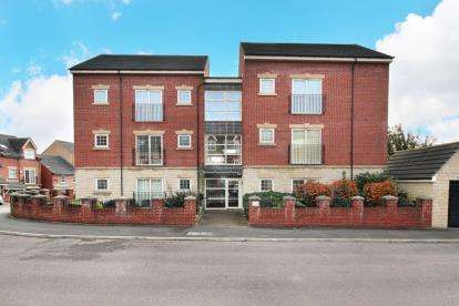 2 Bedrooms Flat for sale in The Hillside, 21 Holywell Heights, Sheffield, South Yorkshire