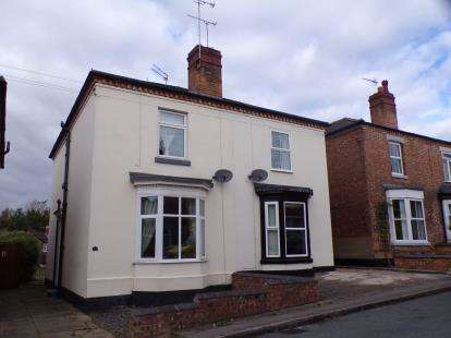 3 Bedrooms Semi Detached House for sale in Rosemount Road, Burton On Trent, Staffordshire