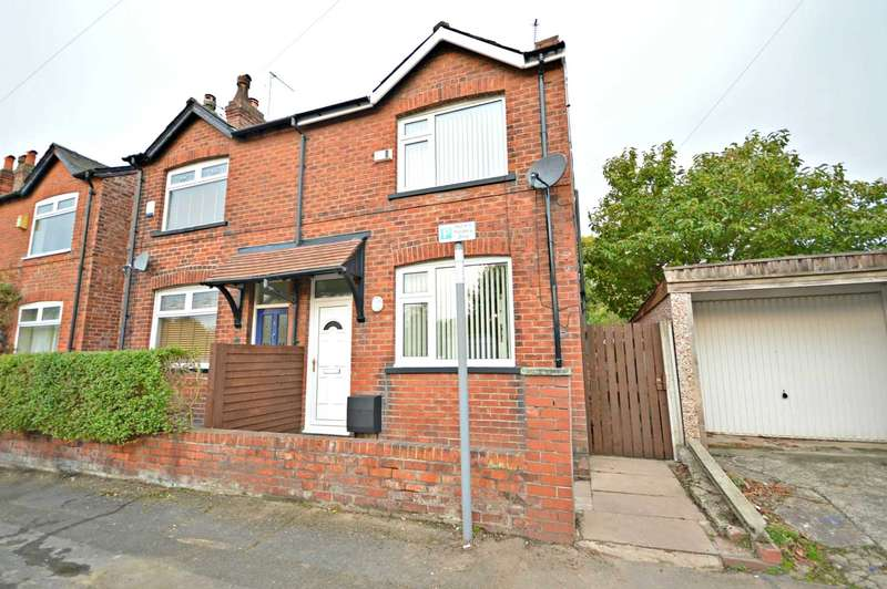2 Bedrooms Semi Detached House for sale in Dundonald Road, Cheadle Hulme