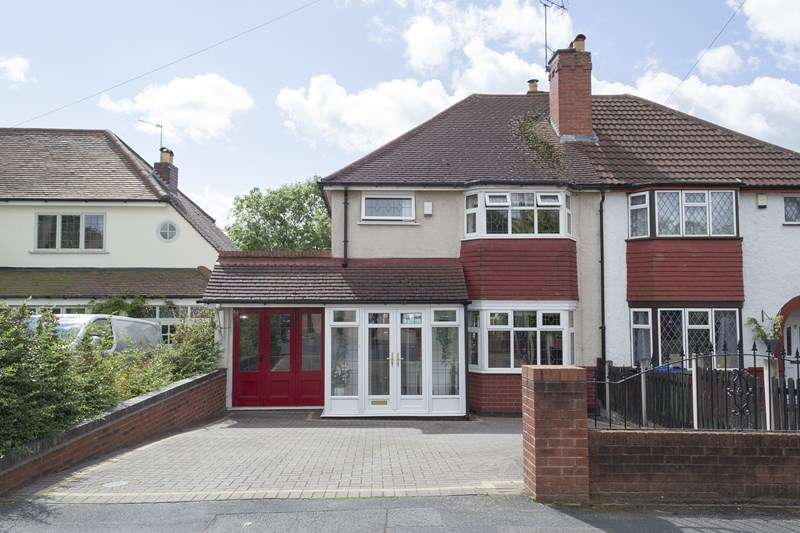 3 Bedrooms Semi Detached House for sale in Sunnybank Road, Oldbury
