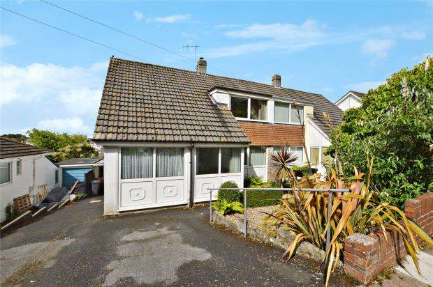 3 Bedrooms Semi Detached House for sale in Padacre Road, Watcombe Park, Torquay, Devon