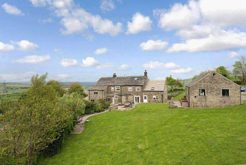 5 Bedrooms Farm House Character Property for sale in Pike Law Farm, Long Gate, Rishworth, HX6 4RG