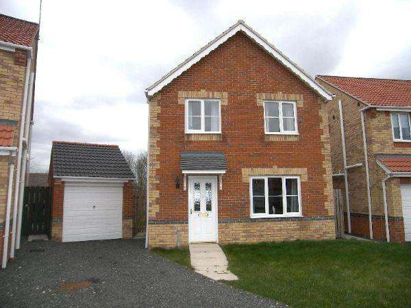 4 Bedrooms Detached House for sale in Willowbrook Close, Bedlington, Four Bedroom Detached House With Garage