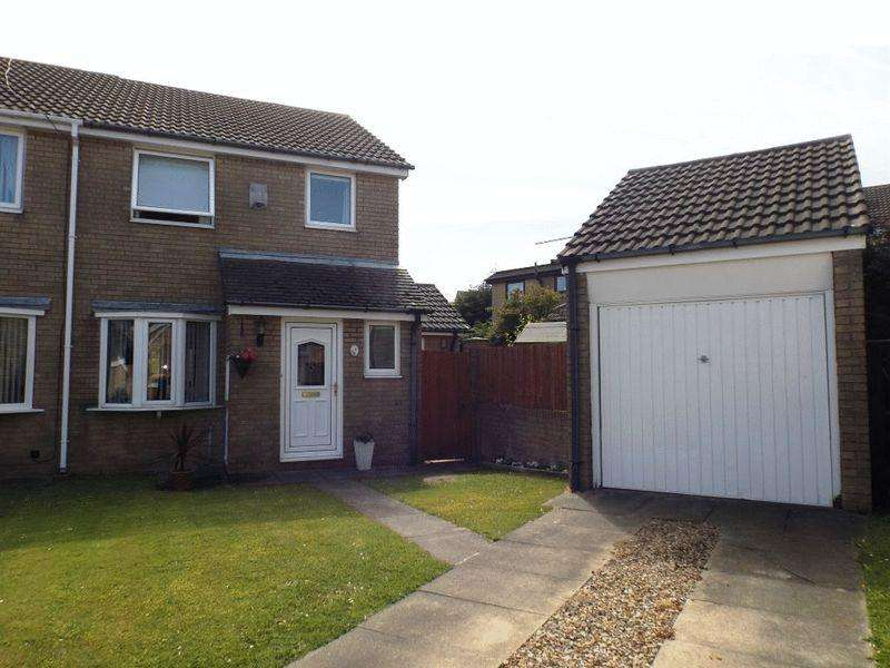 3 Bedrooms Semi Detached House for sale in Dilston Close, Pegswood, Three Bedroom Semi-Detached