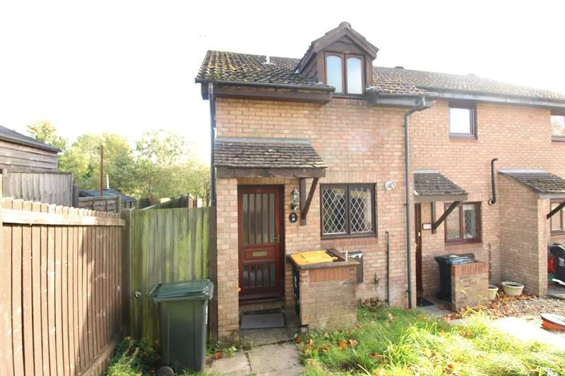1 Bedroom End Of Terrace House for sale in Will Paynter Walk, Newport, NP19