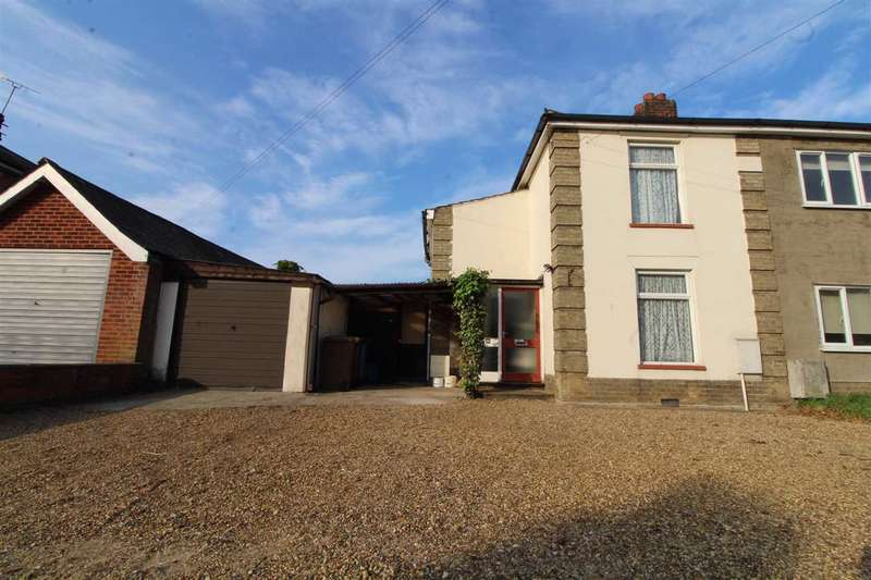 2 Bedrooms Semi Detached House for sale in Crabbe Street, Ipswich