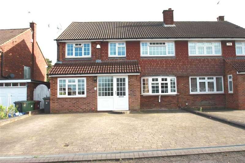 4 Bedrooms Semi Detached House for sale in Cornfield Road, Bushey