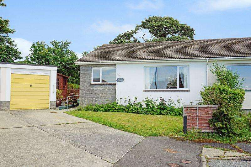 2 Bedrooms Semi Detached Bungalow for sale in Poughill, Bude