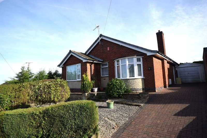 3 Bedrooms Detached Bungalow for sale in Midfield Road, Kirkby-In-Ashfield, Nottingham, NG17