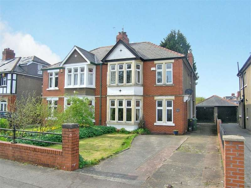 4 Bedrooms Semi Detached House for sale in Heathwood Road, Heath, Cardiff
