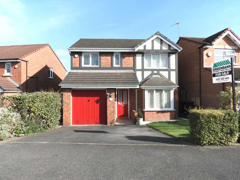 4 Bedrooms Detached House for sale in Saxon Way, Shevington Park, Kirkby