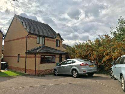 3 Bedrooms Detached House for sale in Earlstoke Close, Banbury, Oxfordshire