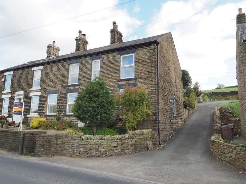 4 Bedrooms End Of Terrace House for sale in Glossop Road, Little Hayfield, High Peak, Derbyshire, SK22 2NG