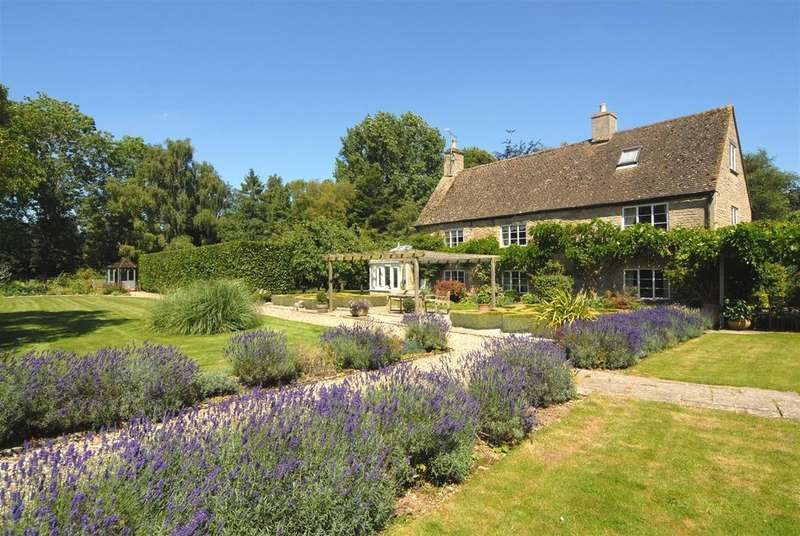 5 Bedrooms Country House Character Property for sale in Little Clanfield, Oxfordshire