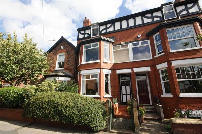 4 Bedrooms Terraced House for sale in Lynwood Grove, Sale