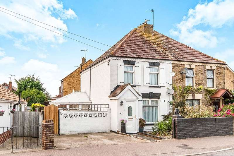 2 Bedrooms Semi Detached House for sale in Northwood Road, Ramsgate, CT12