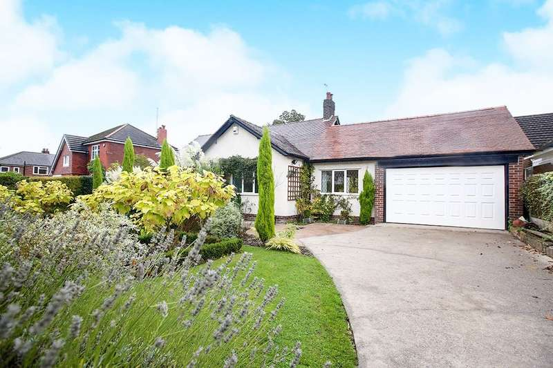 3 Bedrooms Detached Bungalow for sale in Bramhall Moor Lane, Hazel Grove, Stockport, SK7