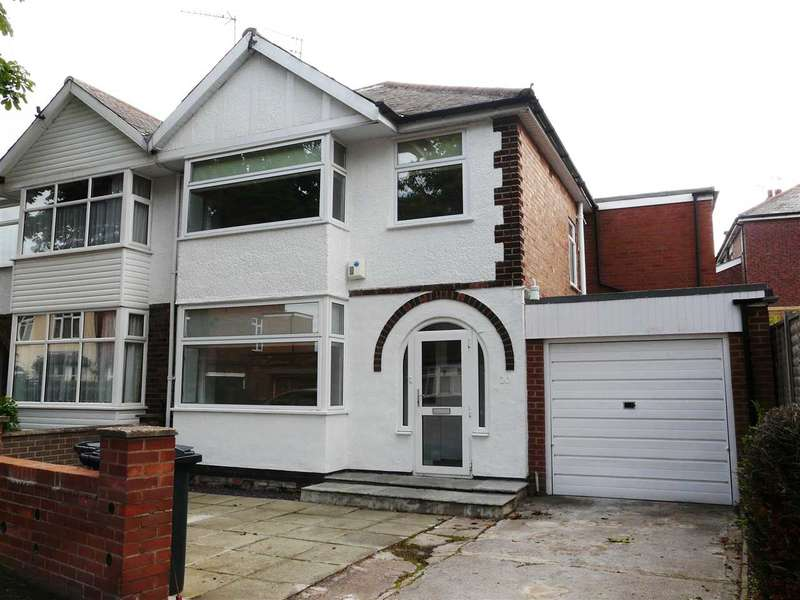 3 Bedrooms Semi Detached House for rent in Worcester Road, Woodthorpe, NOTTINGHAM