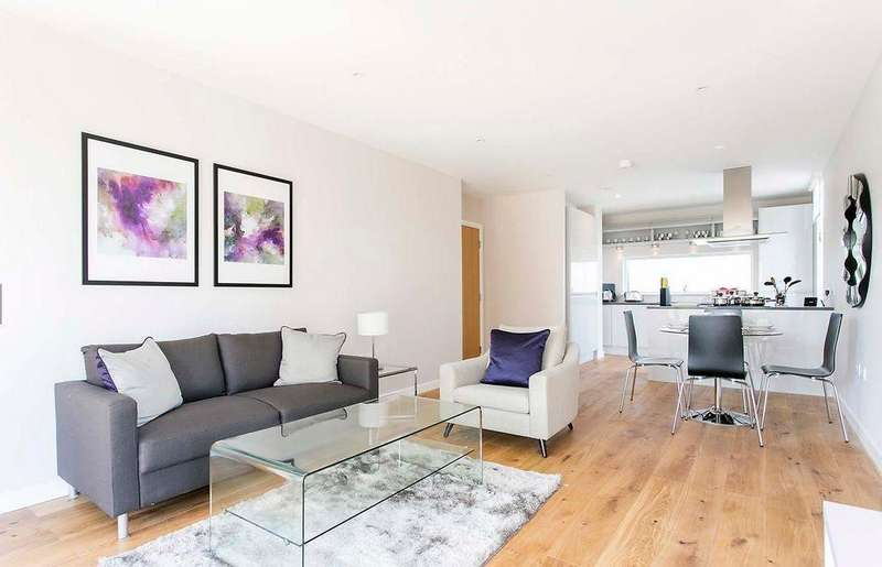 2 Bedrooms Flat for sale in Amberley Waterfront, Amberley Road, Little Venice