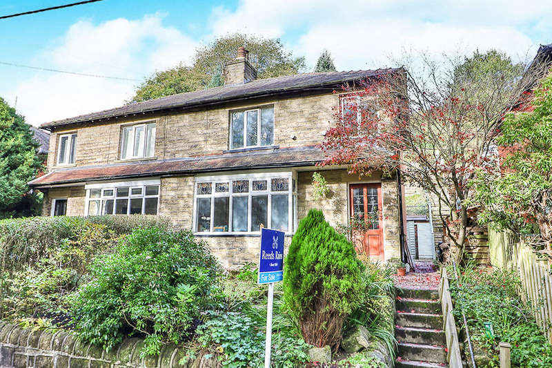 3 Bedrooms Semi Detached House for sale in Underbank Avenue, Hebden Bridge, HX7