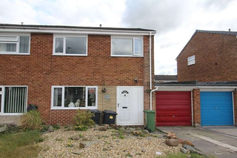 3 Bedrooms Semi Detached House for sale in Burnsall Close, Carlisle, CA2