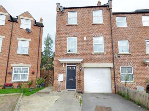 4 Bedrooms Terraced House for sale in Allerton Close, Northallerton, North Yorkshire