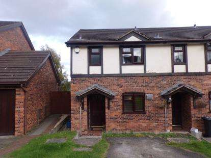 2 Bedrooms Terraced House for sale in Cae Gwenith, Greenfield, Holywell, Flintshire, CH8