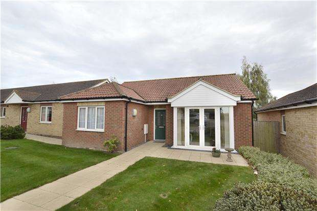 2 Bedrooms Detached Bungalow for sale in Queen Anne Court, Quedgeley, GLOUCESTER, GL2 4JY