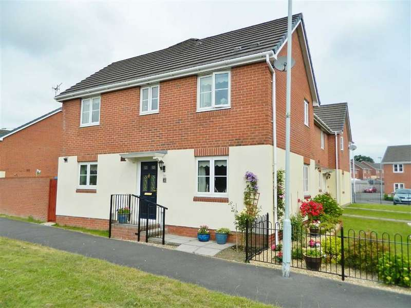 3 Bedrooms End Of Terrace House for sale in Heol Y Gors, Townhill