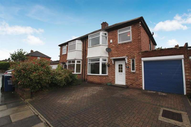 3 Bedrooms Semi Detached House for sale in Jenifer Grove, Newcastle Upon Tyne
