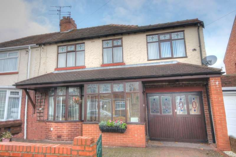 4 Bedrooms Semi Detached House for sale in Chatsworth Gardens, Westerhope, Newcastle Upon Tyne, NE5
