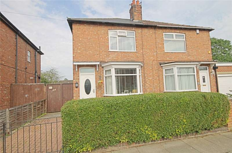 2 Bedrooms Semi Detached House for sale in Brankin Road, Darlington, County Durham, DL1