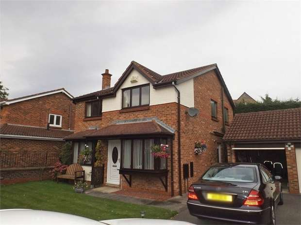 4 Bedrooms Detached House for sale in Millston Close, Hartlepool, Durham