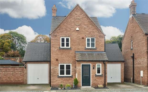 3 Bedrooms Detached House for sale in Castle Gardens, Apley, Telford, Shropshire