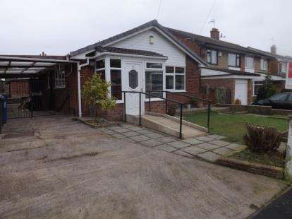 2 Bedrooms Bungalow for sale in Cambourne Drive, Hindley Green, Wigan, Greater Manchester
