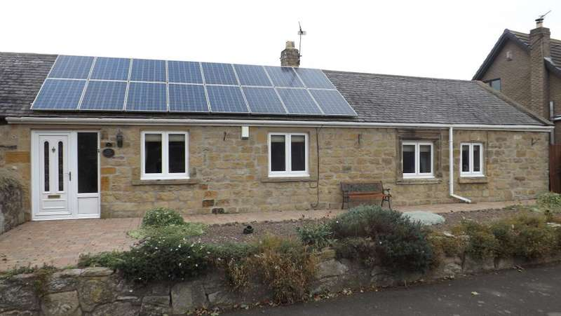 3 Bedrooms Cottage House for sale in High Hauxley, Morpeth, Northumberland, NE65 0JW
