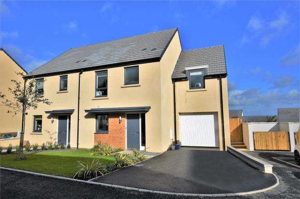4 Bedrooms Detached House for sale in Meldon Fields, Okehampton, Devon