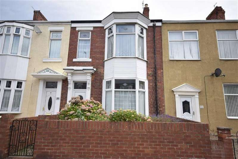 3 Bedrooms Terraced House for sale in Mortimer Road, South Shields