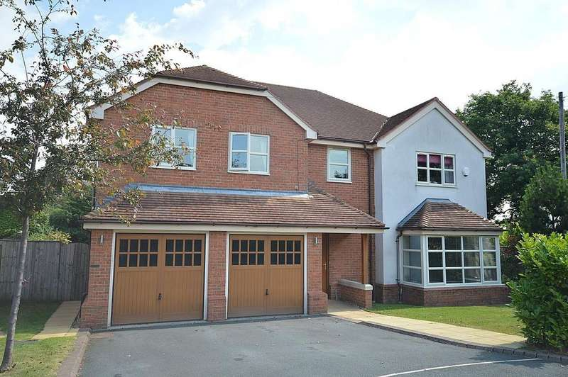5 Bedrooms Detached House for sale in Top Park Close (Off Moss Lane) Warburton, Lymm