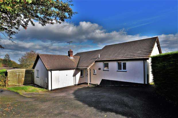 3 Bedrooms Detached Bungalow for sale in Hayfield Road, Exbourne, Okehampton